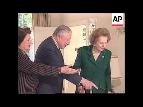 UK: MARGARET THATCHER AUGUSTO PINOCHET SPEECH