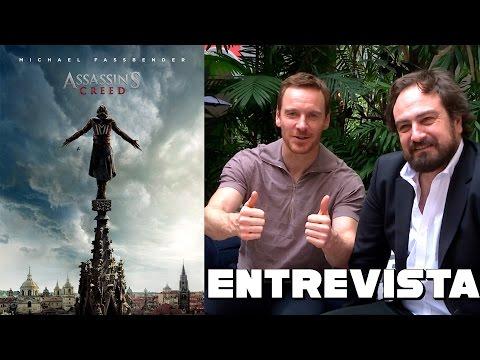 Assassin's Creed - Entrevista Michael Fassbender y Justin Kurzel Mp3