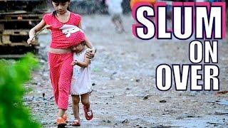 Saigon's worst slum. Vietnam ghetto life.