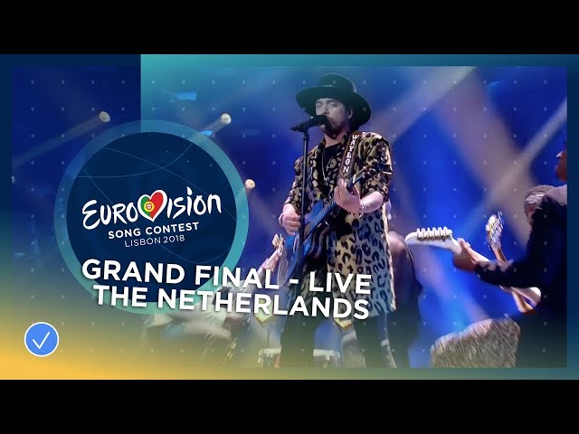 Waylon - Outlaw In 'Em - The Netherlands - LIVE - Grand Final - Eurovision 2018