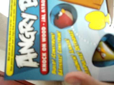 Unboxing Angry Birds Knock On Wood El Juego De Mesa Oficial Mattel