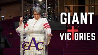Giant Victories | Rev. Elaine Flake | Allen Virtual Experience
