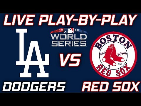 L.A. Dodgers vs Boston Red Sox #WorldSeries | Live Play-By-Play & Reactions
