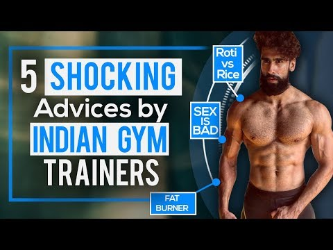 5 Worst FITNESS ADVICE By INDIAN GYM TRAINERS | Beginner Bodybuilding Mistakes