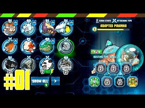 Mutant Fighting Arena Part 01: Unlock 8 Mutants   DCTE VN