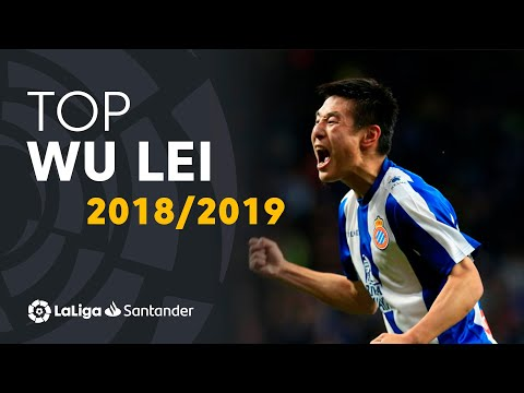 TOP Moments Wu Lei LaLiga Santander 2018/2019