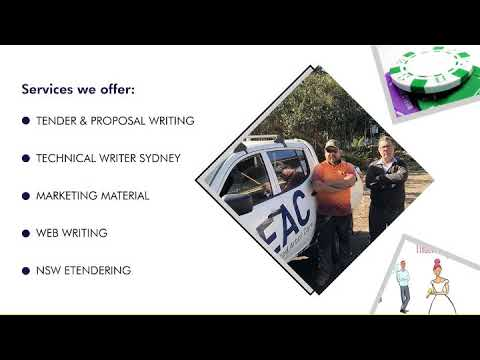 Tender Writing Services - Madrigal Communications