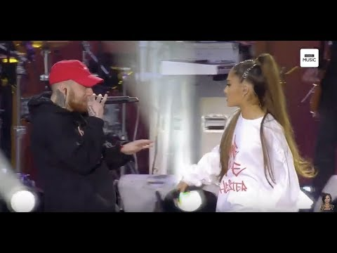 Ariana Grande & Mac Miller - The Way Live (One Love Manchester)