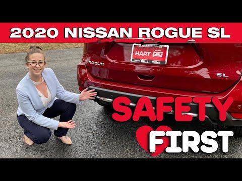 2020 Nissan Rogue SL Safety Features | Hart Nissan | Mechanicsville | Virginia