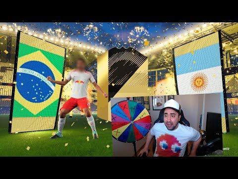 CAMINANTE, IF Y PANELES!!! RECOMPENSA SQUAD BATTLES FIFA 18
