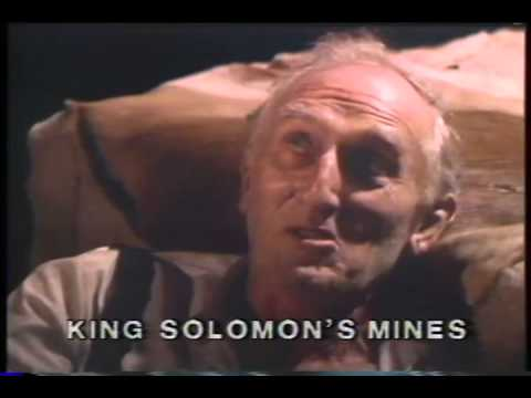 King Solomon's Mines Trailer 1985