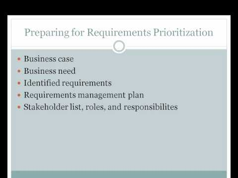 Requirements Analysis Overview