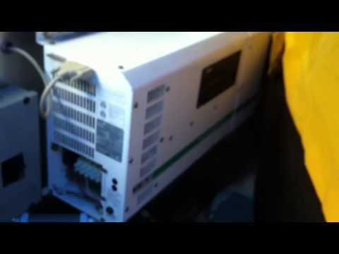Trace Engineering Inverter / Charger model SW4024 test