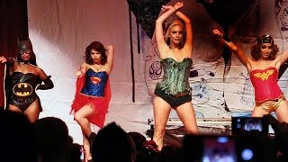 Suicide Girls cosplay Blackheart Burlesque show at San Diego Comic-Con 2014 SDCC (NSFW) - OTM