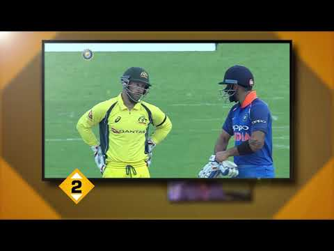 Cricket Countdown: Top fiery moments from 2nd Paytm #INDvAUS ODI!