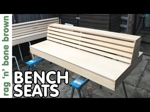 Making Bench Seating - Barber Shop Commission (part 1 of 3)
