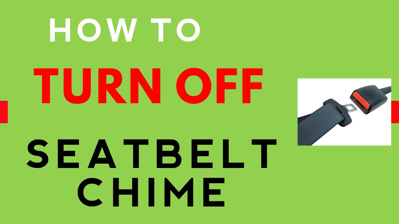 How-To #4: Disable Seat Belt Chime Reminder - Dodge Charger 2006-2010