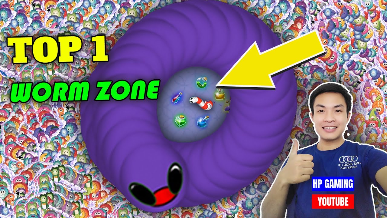 Worms Zone Slither Snake With Best Score Top 1 Epic Gameplay | HP Gaming