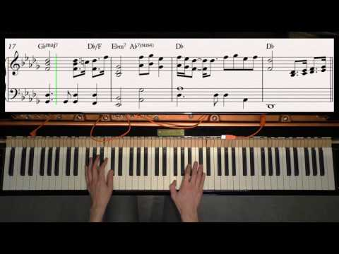 Beauty And The Beast - Ariana Grande, John Legend - Piano Cover Video By YourPianoCover