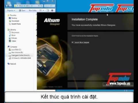 [Hướng dẫn cài đặt Altium V10] by TopEdu.vn