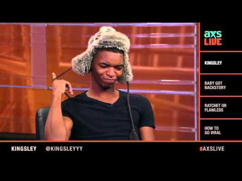 Kingsley Interview on AXS Live