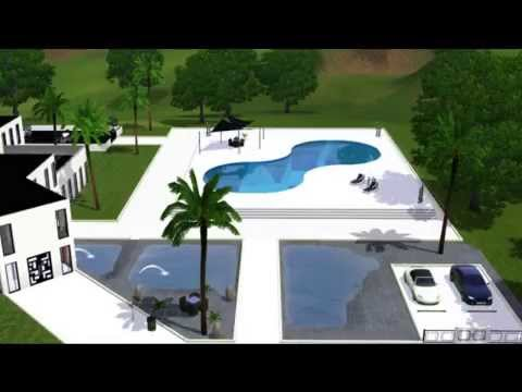 Sims 3 Luxus Haus - YouTube