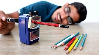 Unique Pencil Sharpener Unboxing & Giveaway