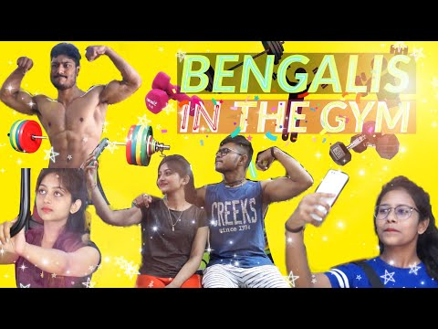 Types of Bengalis in Gym | Bangla New Funny Video 2018 | Being Bong