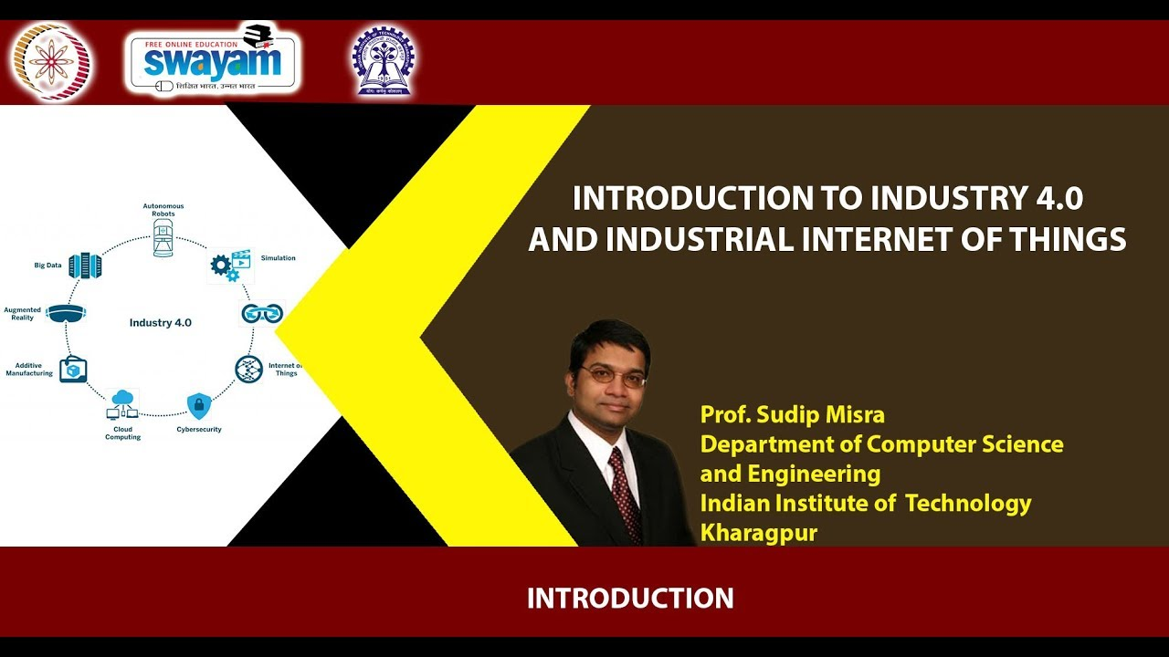 Introduction to Industry 4 0 and Industrial Internet of Things