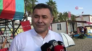 Türk ve Azerbaycan bayrakları dalgalandı