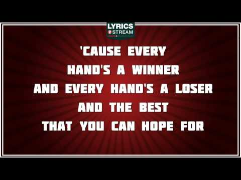 The Gambler - Kenny Rogers tribute - Lyrics