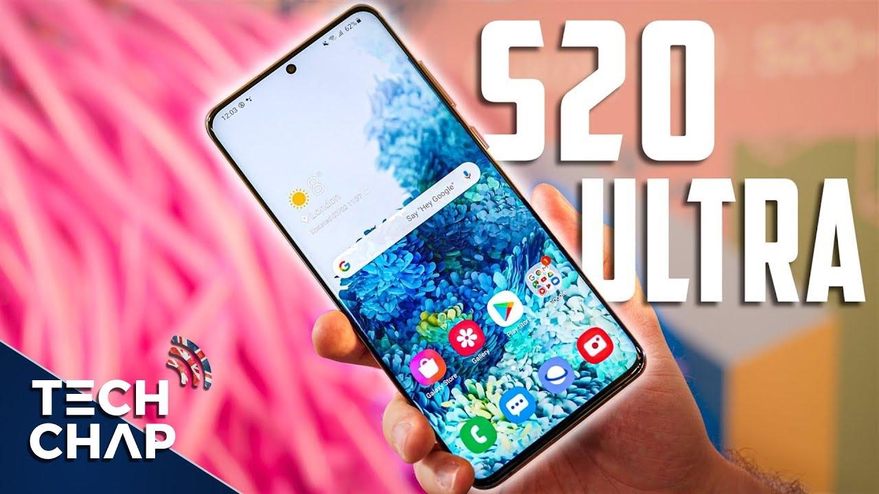 Premier aperçu du Samsung Galaxy S20 ULTRA - C'est une BÊTE! | The Tech Chap + vidéo