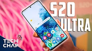 Samsung Galaxy S20 ULTRA First Look - It's a BEAST! | The Tech Chap
