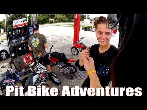 Pit Bike Adventures | EP 24 // Finding New Spots!
