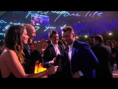 Sam Smith Wins British Breakthrough Act | BRIT Awards 2015