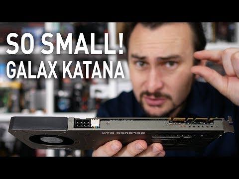 Galax GTX 1070 Katana, Does Size Matter?