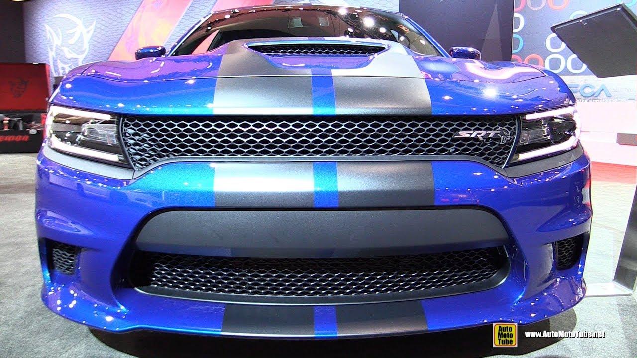 Dodge Charger Hellcat Exterior And Interior Walkaround - Dodge car show 2018