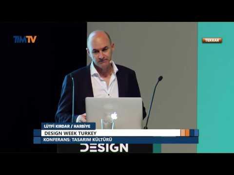 Design Turkey 2016 - Paul Cohen Tasarım Kültürü Konferansı