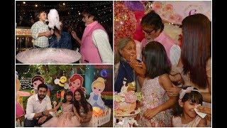 Inside Video : Aaradhya Bachchan's Birthday Bash with Shah Rukh Khan and his son AbRam