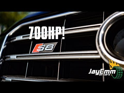 This 700bhp Audi S8 Is An Executive MONSTER!  .....or is it?