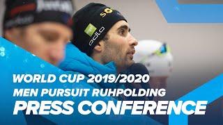 Ruhpolding Men Pursuit Press Conference