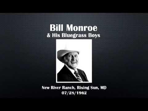 【CGUBA299b】 Bill Monroe & His Bluegrass Boys 07/28/1963 (Revised)