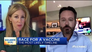 Former Allergan CEO on the most likely timeline for a Covid-19 vaccine
