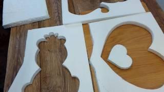 Beton :Gießform aus Styropor selber machen