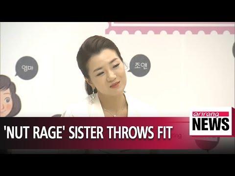 Korean Air CEO's daughter apologizes for tantrum in meeting