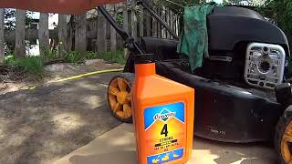 видео Газонокосилка бензиновая McCulloch M46-110R Classic