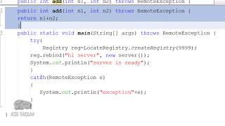RMI Program using Netbeans | Client Server Program | How to run java RMI Program | Hindi Urdu