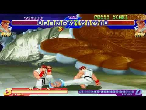 Download street fighter alpha warriors dreams ryu versus ryu
