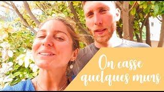Vlog Maison 3🏡: On casse ...quelques murs !