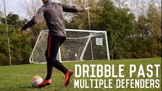How To Dribble Multiple Defenders | Dribbling Out Of Tight Spaces Tutorial